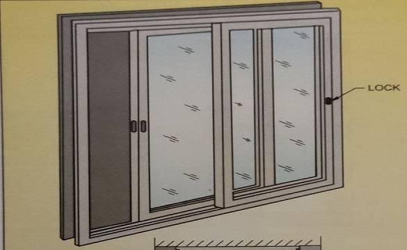 ALUMINIUM SLIDING WINDOWS PROCEDURE FIXING