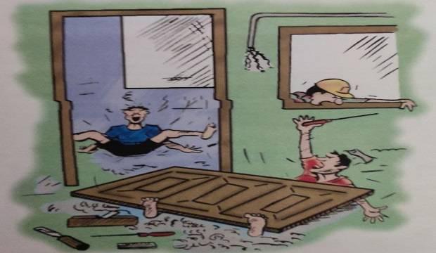DOOR WORK FIXING PROCEDURE
