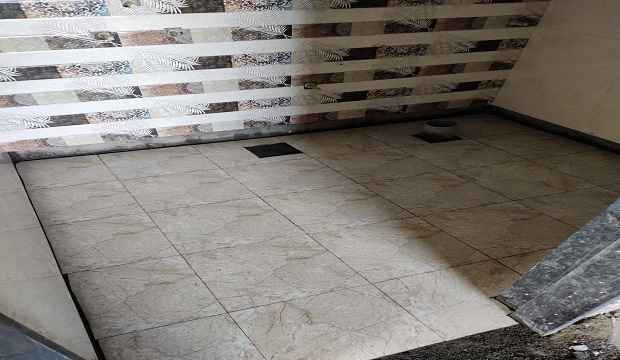 Flooring and tiles fixing work procedure