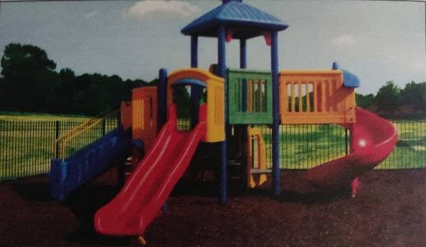 PLAYGROUNDS AND PLAYING EQUIPMENT