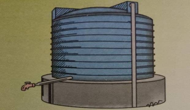 TEMPORARY WATER STORAGE TANK