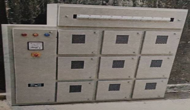 electrical meter cabinet